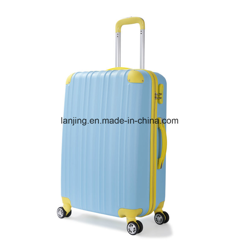 Bw1-019 Woman Travelling Trolley Luggage Bag Suitcase Set