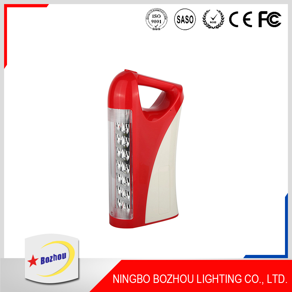 Battery Backup LED Rechargeable Emergency Light with Remote Control