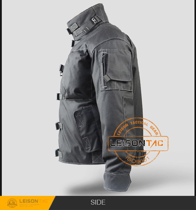 Tactical Jacket with Molle for Police 1000d Nylon Waterproof
