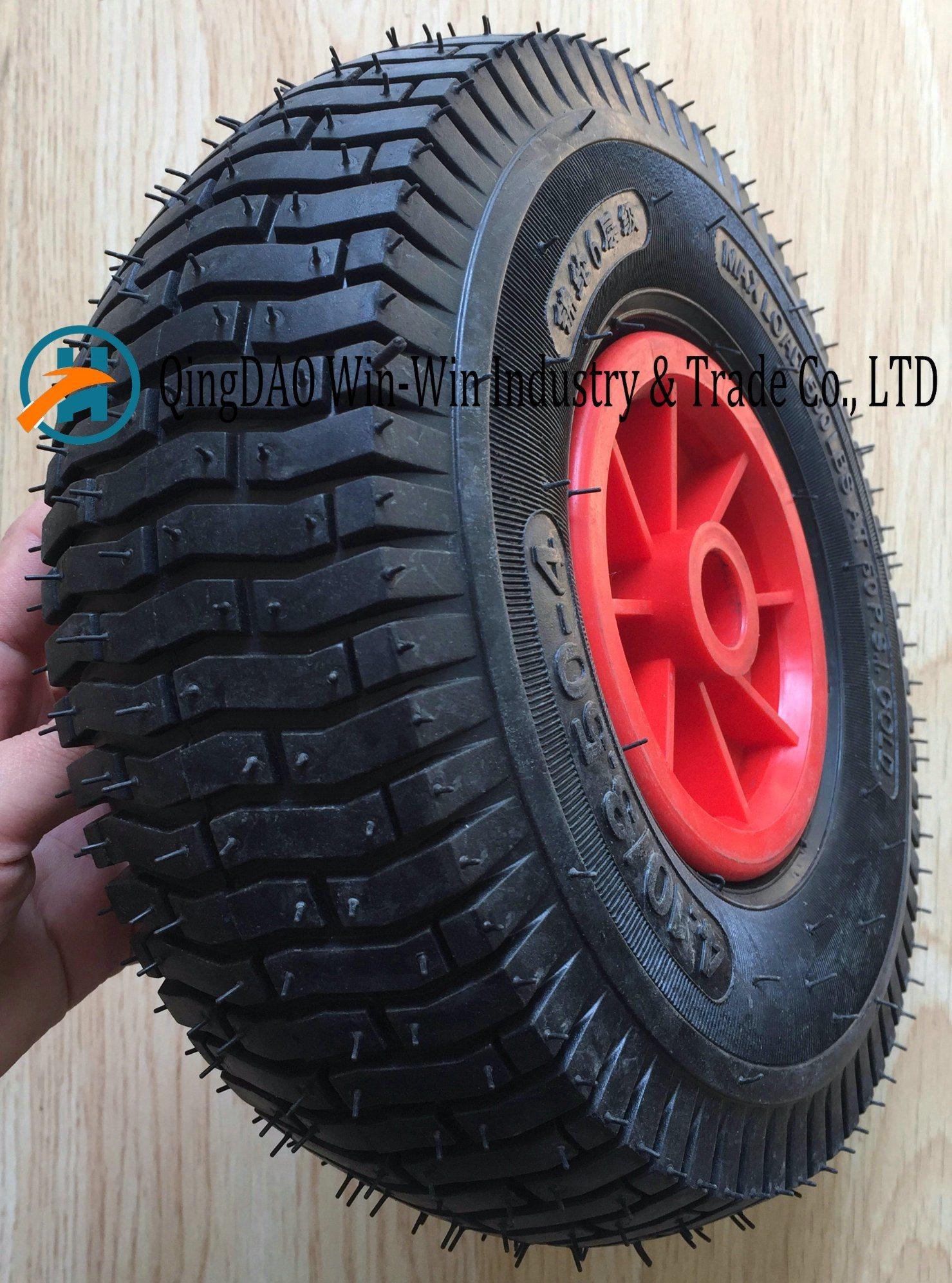 Wheelbarrow Rubber Wheel with Plastic Rim (4.10/3.50-4)