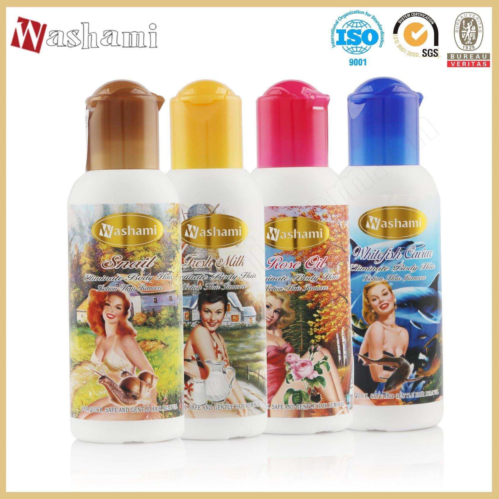 Washami Rose Oil Body Hair Depilatory Cream Hair Removal Cream for Women