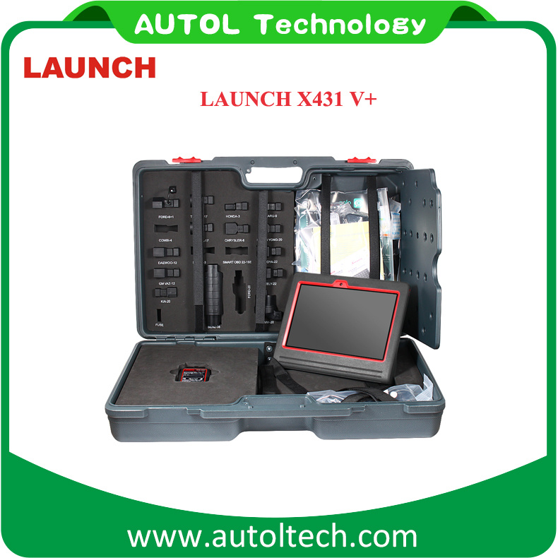 Launch X431 V+ WiFi/Bluetooth Globle Version Update Online X431V+
