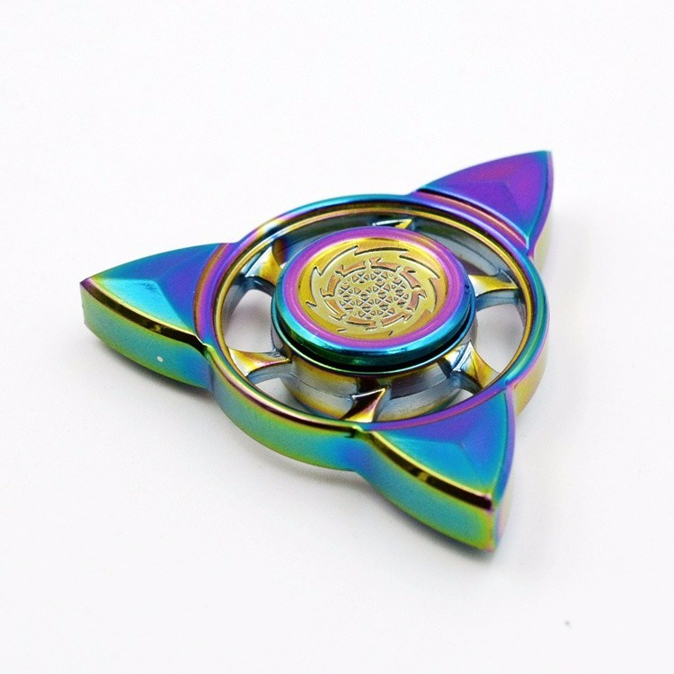New Design Colorful Star Shape Fidget Spinner