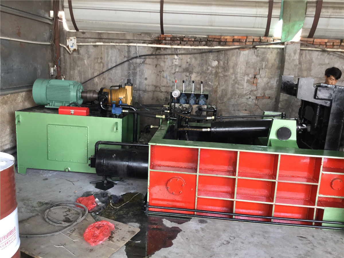 Y81f-200 Hydraulic Metal Baler Machine