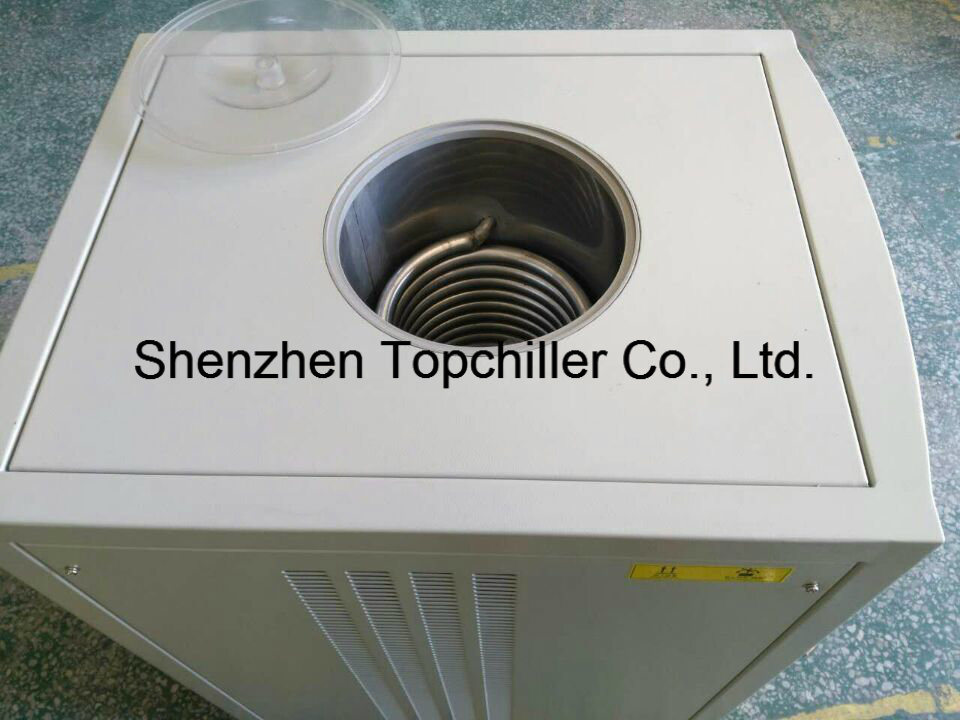 9.6kw Portable Air Cooled Water Chiller with Copeland Scroll Compressor