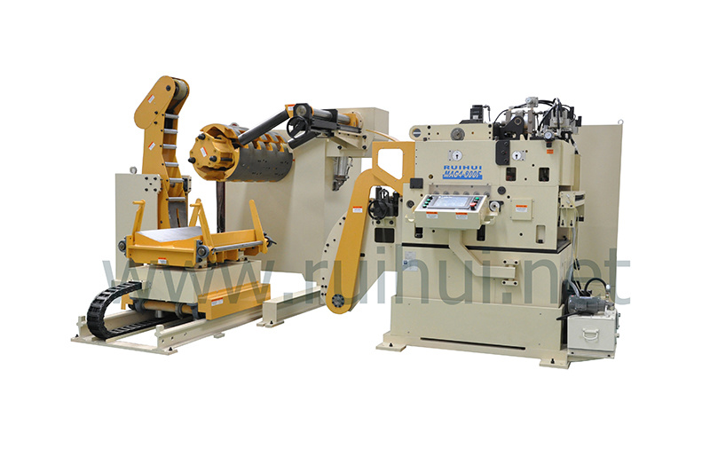 Automation Machine Nc Servo Straightener Feeder and Uncoiler Make Material Straightening