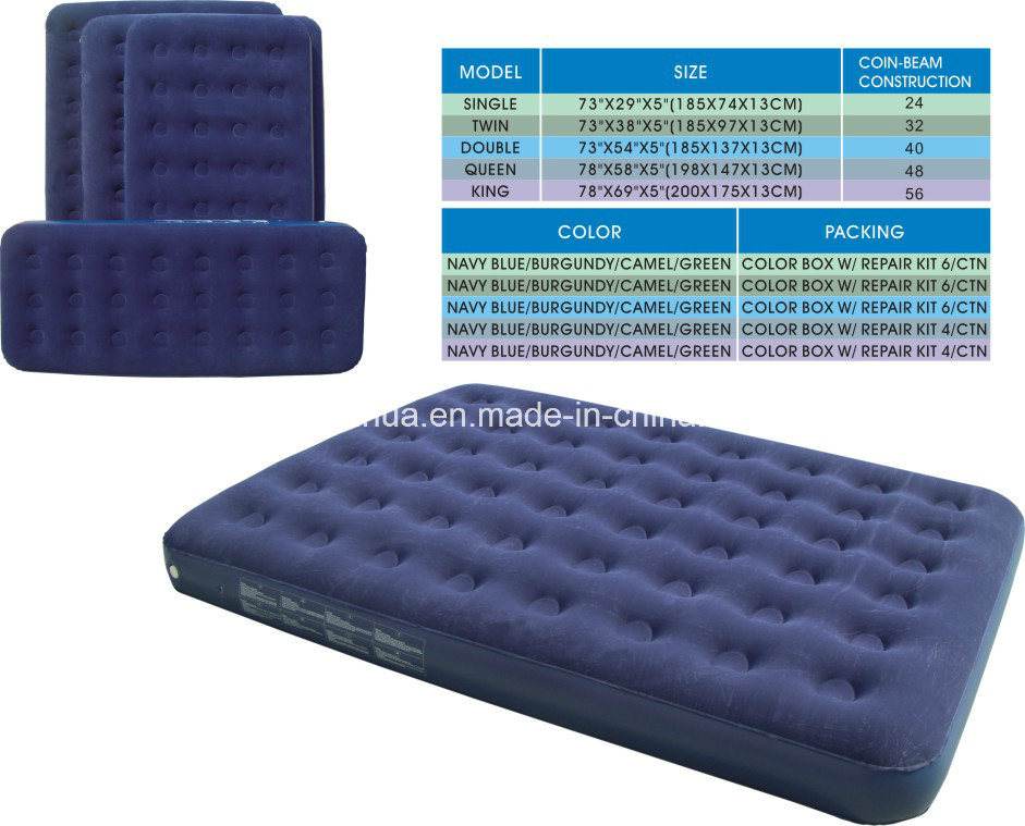 Inflatable Airbed /Flocked Air Bed