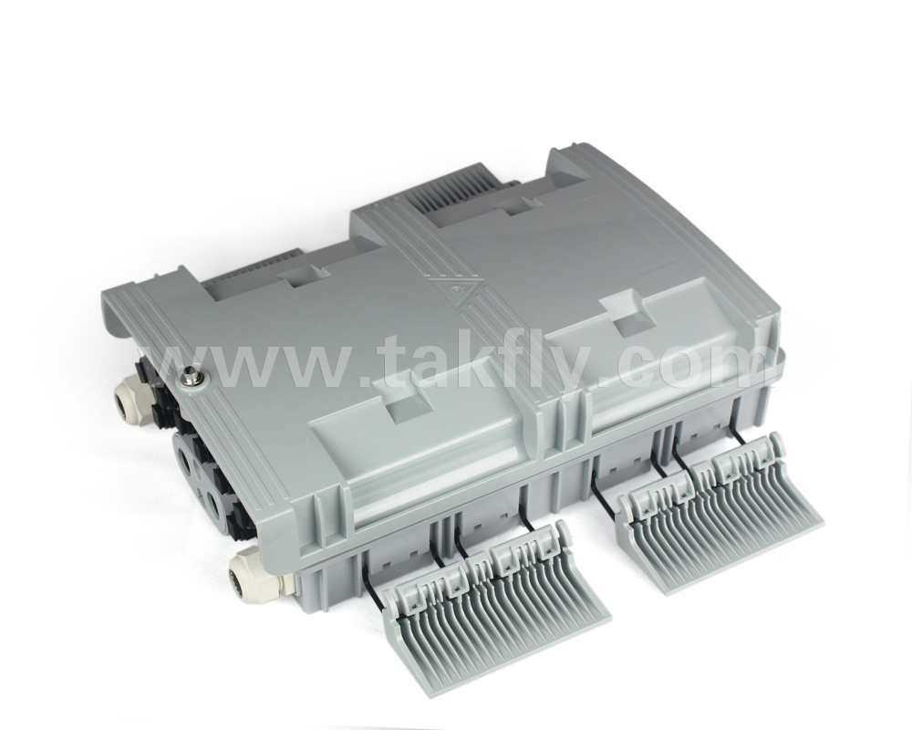 Waterproof 8 Cores 2.0mm/3.0mm/2*1.6mm Drop Cable Fiber Optic Splice Box/Terminal Box