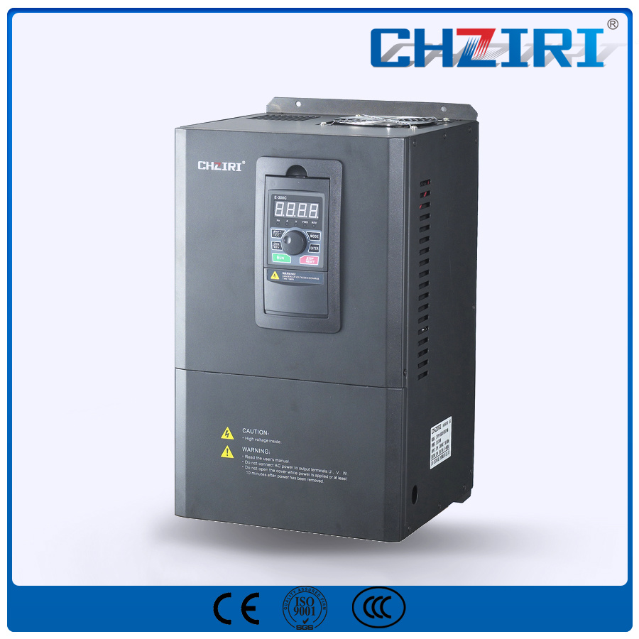 Chziri VFD High Efficiency 37kw Variable Frequency Inverter Zvf300-G037/P045t4m