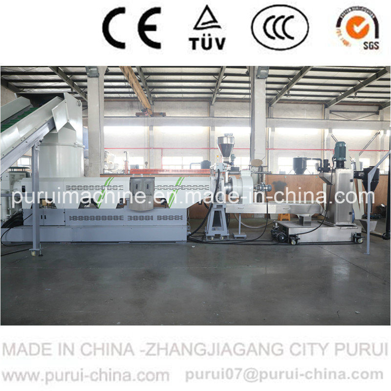 Plastic Recycling System for Post Consumer material with Double Disc Technology