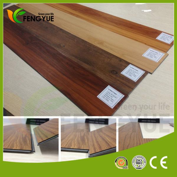Hot Selling in Europe Click PVC Vinyl Floor Tiles