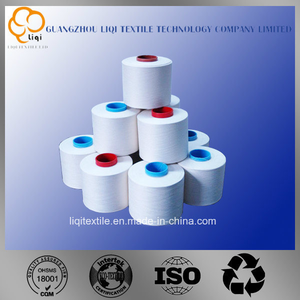 Ring Spun 100% Polyester Filament Yarn Fabric Textile Sewng Use