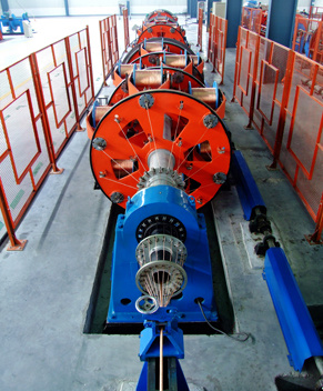 Planetary Stranding Machine, Wire Making Machine