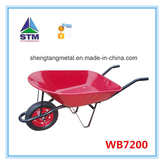 Stainless Pink Color Wheelbarrow (WB5009)