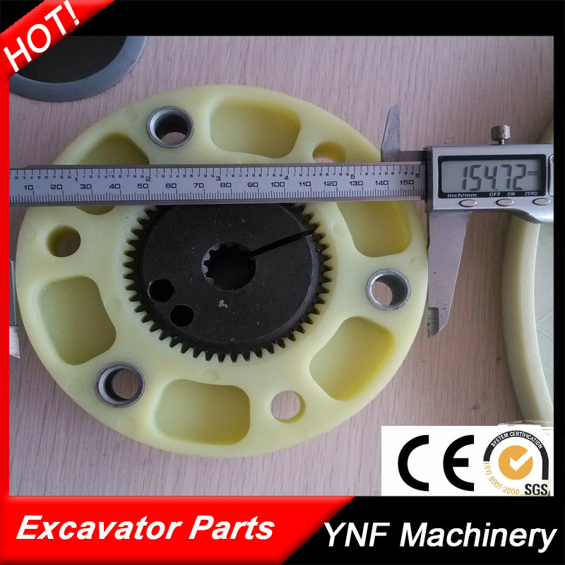 Hydraulic Pump Parts Excavator Coupling Size 150*50
