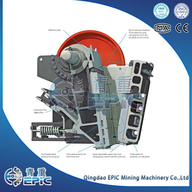 China OEM Crushing Machine, Stone Jaw Crusher