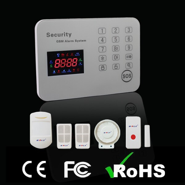 Touch Keypad GSM Home Security System (WL-JT-120CG)