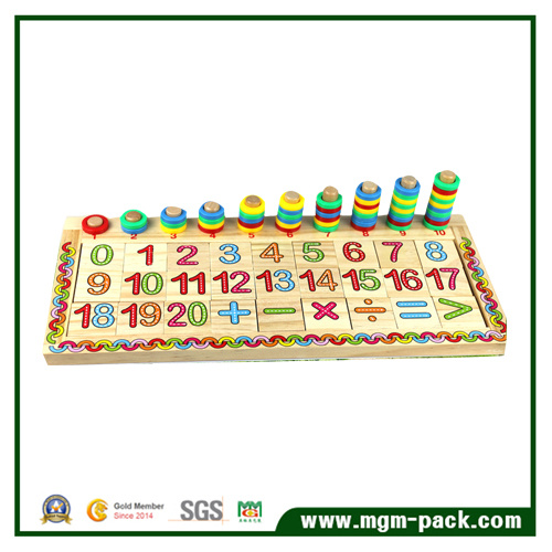 Popular New Educational Kids Wooden Montessori Material for Gift