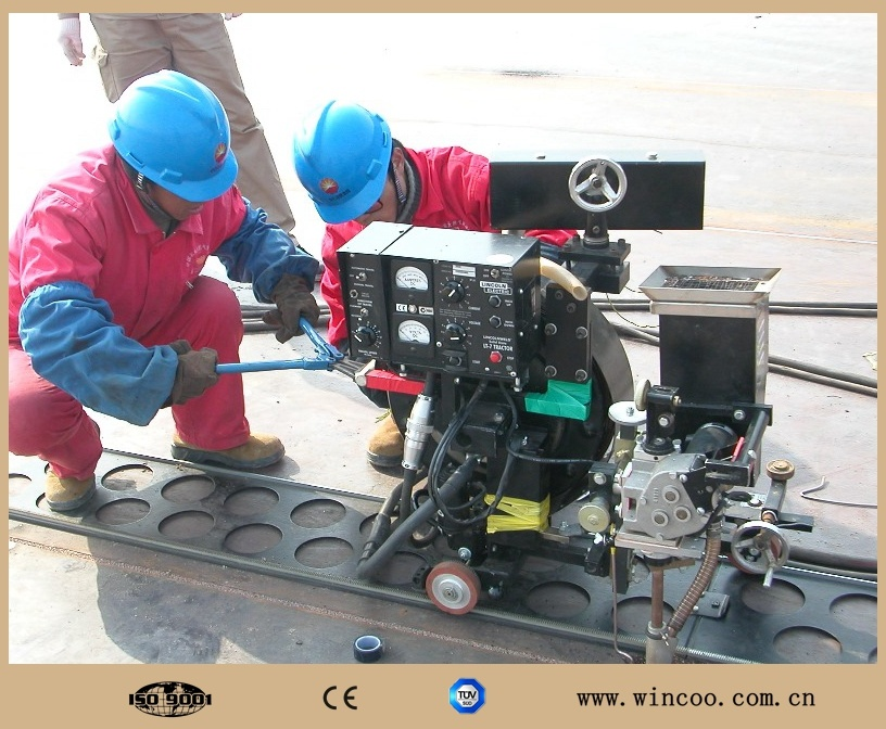 Tank Bottom Pate Welding Machine/ Automatic Welding Machine