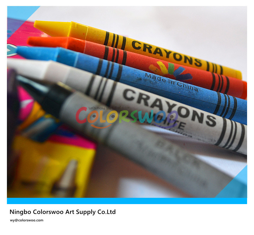Wax Crayon, Non-Toxic Crayon, Best Selling Crayon, Jumbo Crayon, Classic Crayon, 8 Color Crayon, 1.1*10cm for Kids and Students