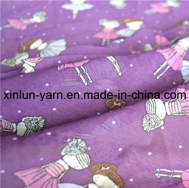 Wholesale High Quality Plain Printed Chiffon Fabric