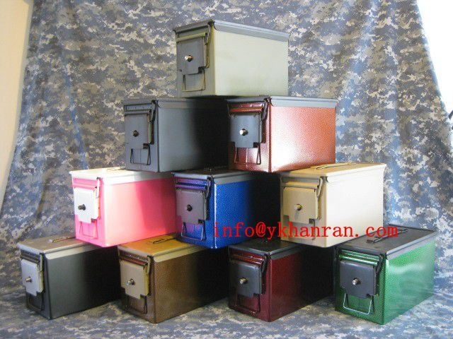Metal Tool Box, Waterproof Tool Box, Army Quality Level