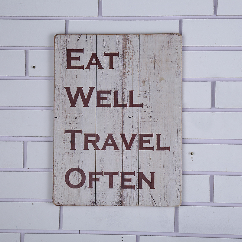 Shabby Chic Classic Kitchen Wooden Sign Home Accessories with Sayings