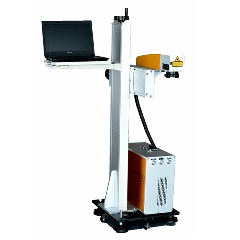 on The Fly Laser Marking Machine Automatic Engraving Machine