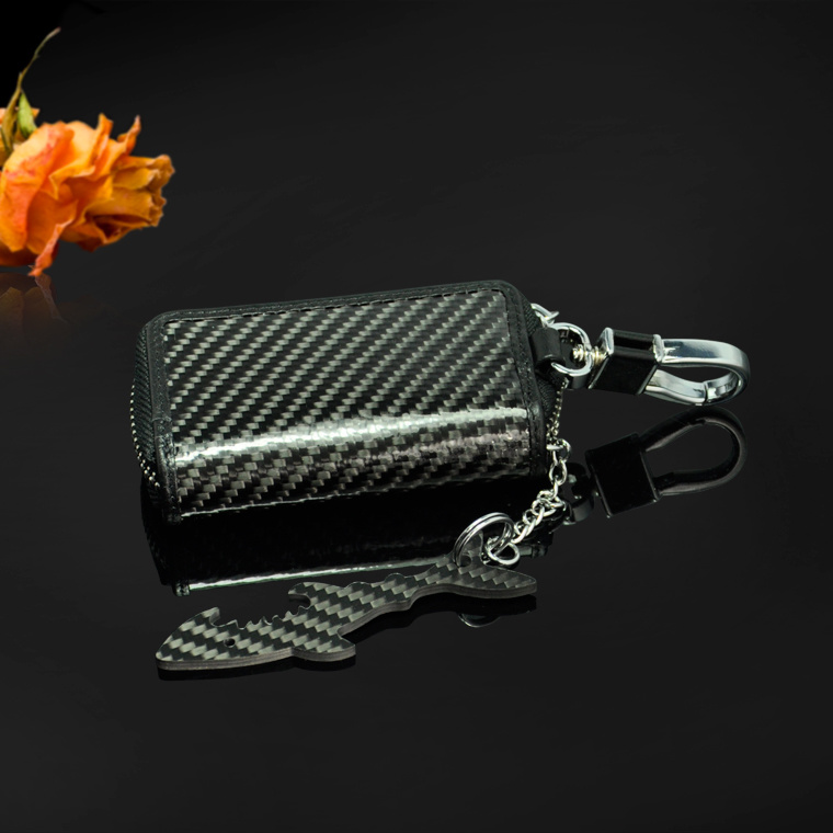 High Quality Luxury China Supply Carbon Fiber Key Holder