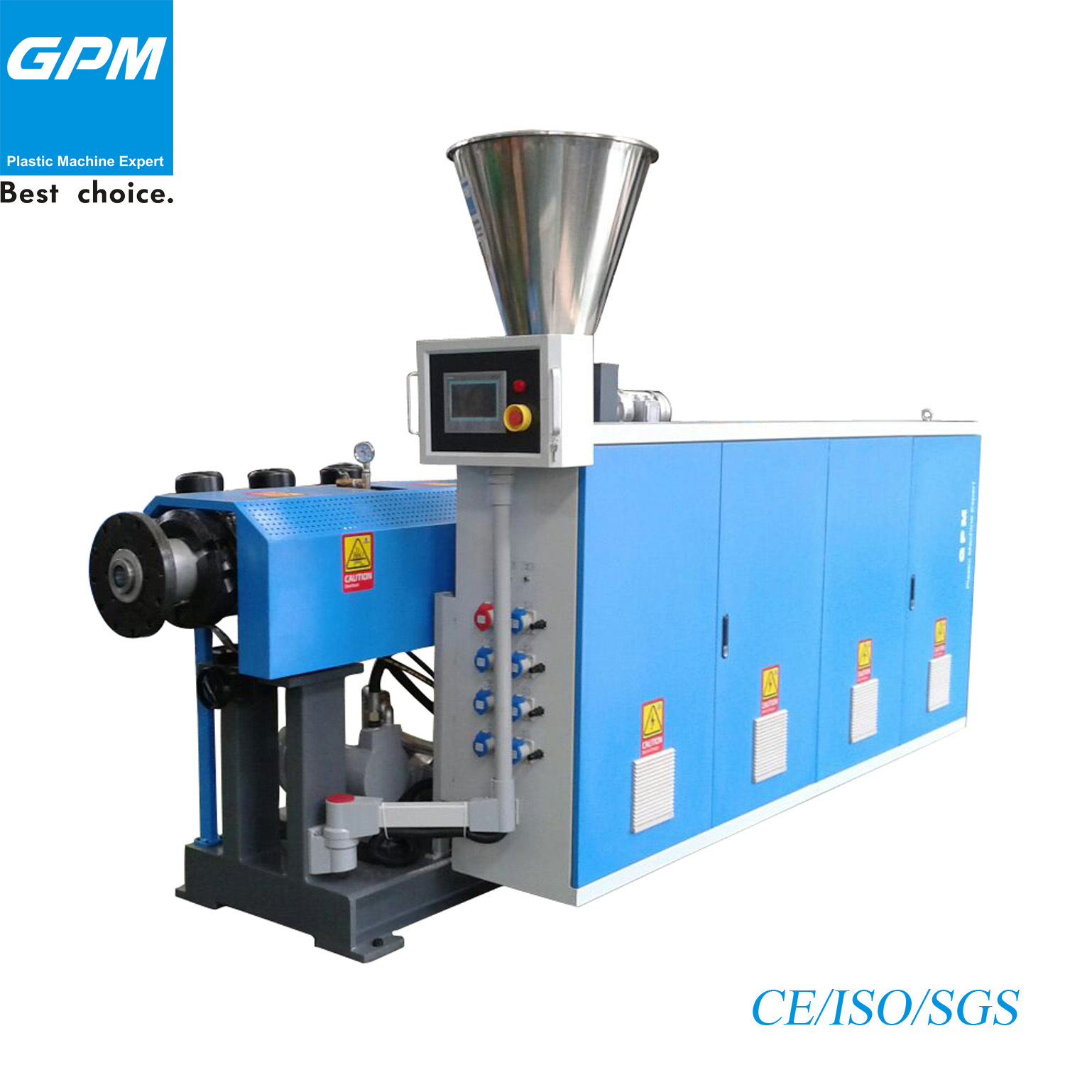 High Quality Plastic Pipe Extruder