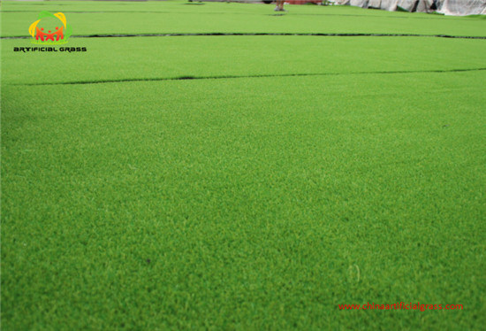 Removable Olive Landscape Synthetic Turf Withour Heavy Metals