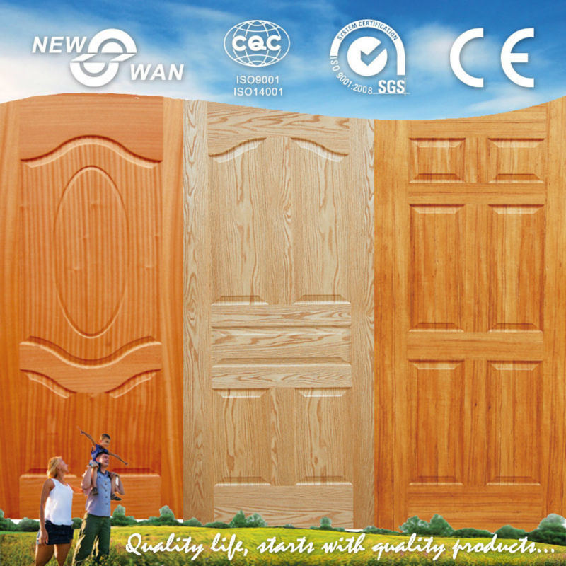 N-Teak HDF Molded Venner Door Panel (NTE-HD5001)