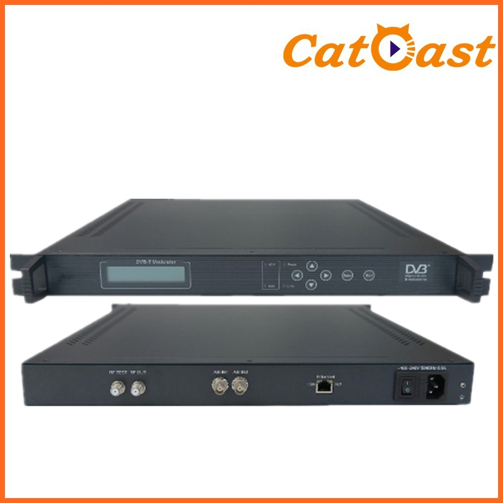 Modulation with Qpsk, 16qam, 64qam DVB-T Modulator