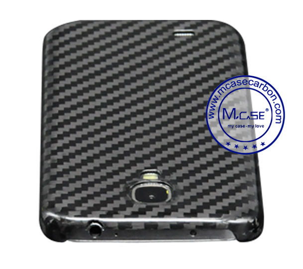 Custom Trading High Quality 100% Real Carbon Fiber Mobile Phone Case Cover for Samsung S4