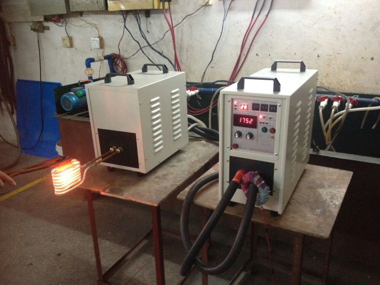 High Frequency Induction Heating Machine Hf-40kw
