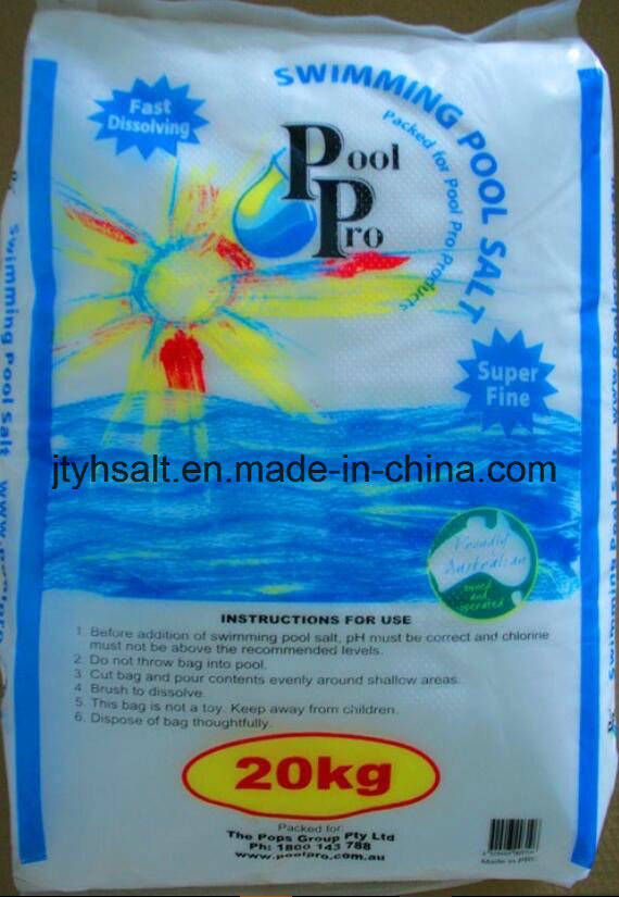 Kintan Ultrapure Pool Salt-20kg PE Bag