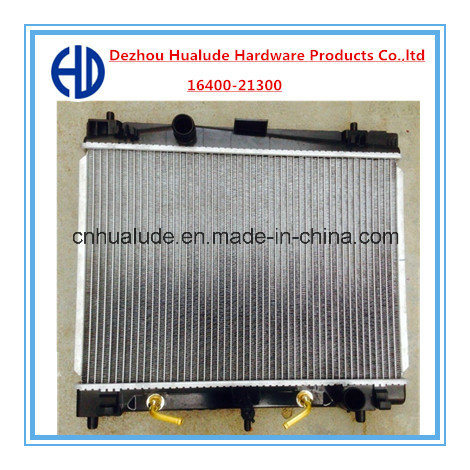 Aluminum Car Radiator for Toyota Vitz 05′ at