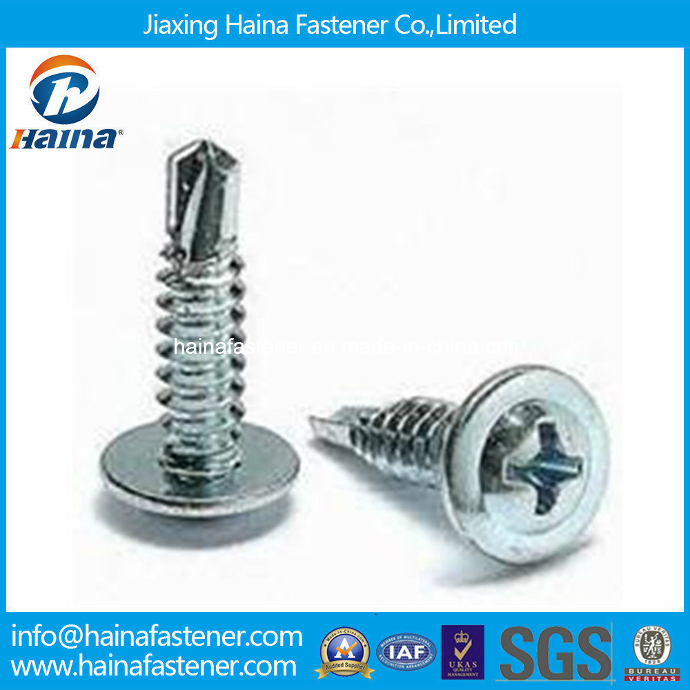 Zinc Plated Modify Truss Head Self-Drilling Screw