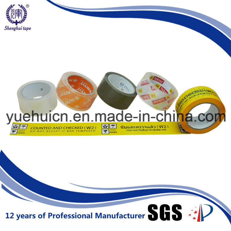 Strong Adhesion Custom High Tensile Carton Packaging Tape