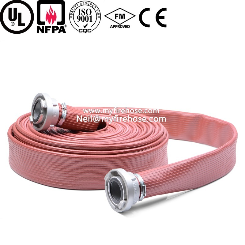 7 Inch Export-Oriented PVC Flexible Durable Fire Proof Hose