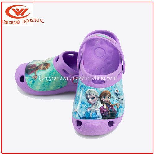 Summer Frozen Kids Garden Shoes Confortable Clog Shoes for Children