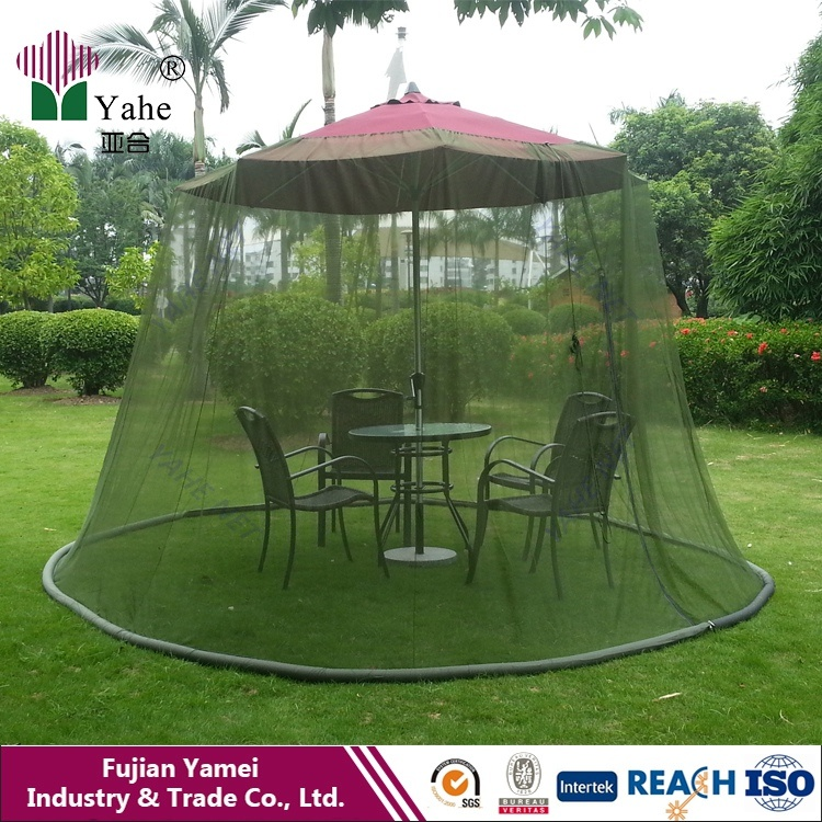 Umbrella Mosquito Net Canopy Patio Set Screen House