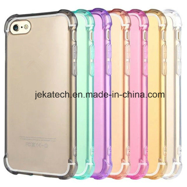 Air Cushion TPU Clear Mobile Phone Cover Case for iPhone 7