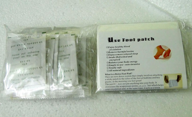 Manufacturer of 100% Natural Healthcare Detox Foot Patch Detox Foot Patch