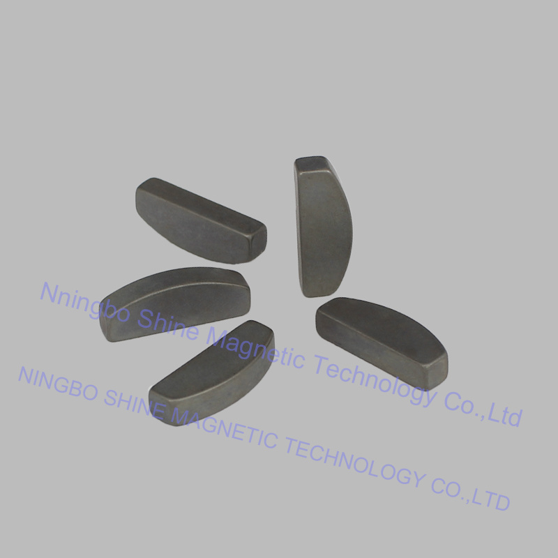 Irregular Shaped Phosphate Treatment N45 Neodymium Magnet