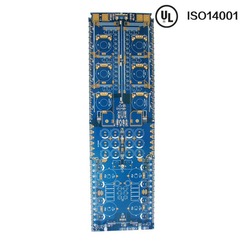 Gold Plating Blue Mask 8layers PCB