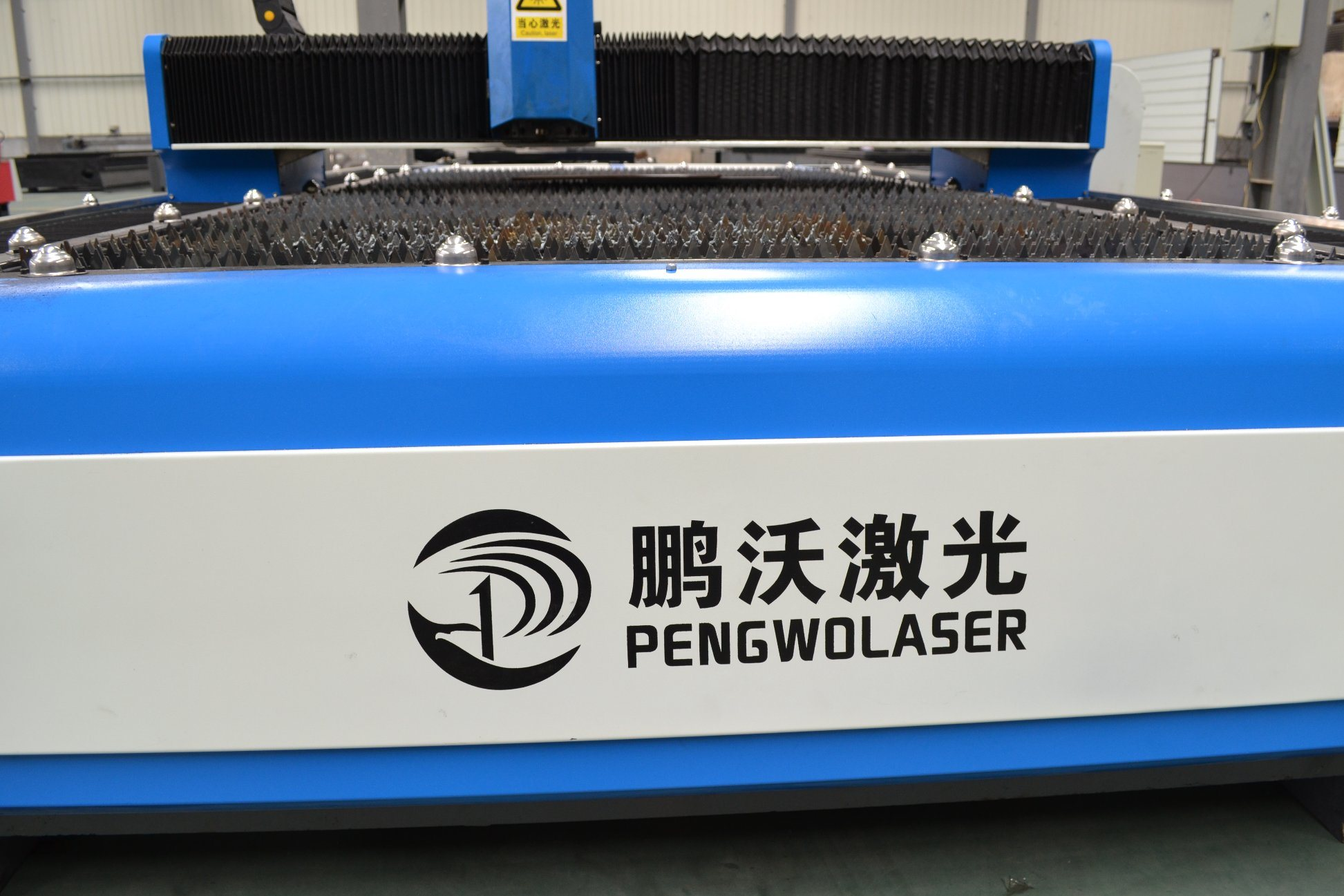 High Power Fiber Cutting Machine with CNC Laser