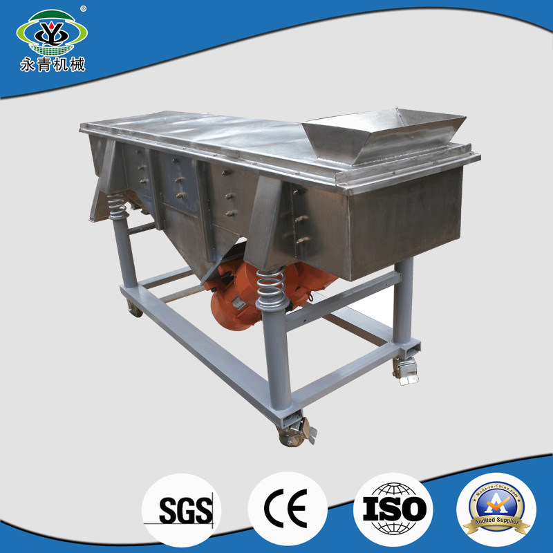 Fine Wire Mesh Linear Vibrating Sieve Shaker for Rice