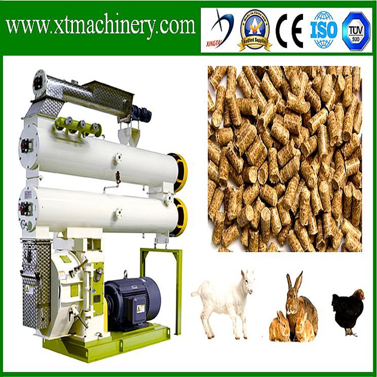 Poultry Feed Application, Low Price Pellet Extruder with TUV Certificate