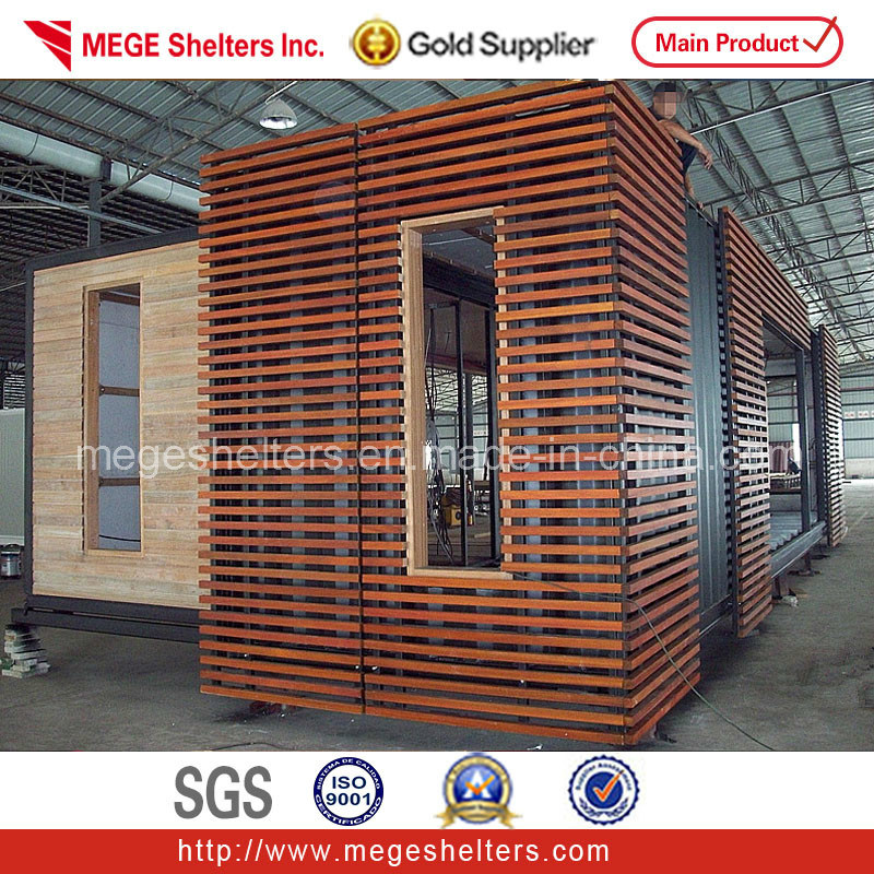 40 Feet Container Homes: China 40ft Expandable Container House With Wood Decoration